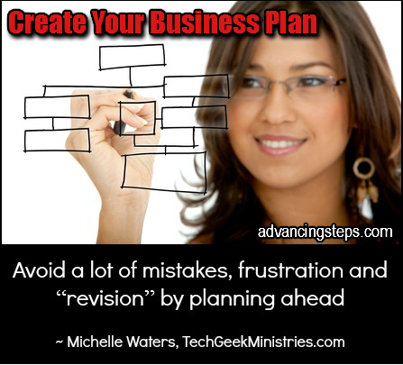 Create Your Business Plan 3