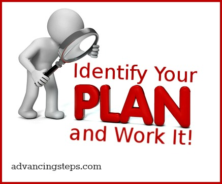 Identify Your Plan and Work It2
