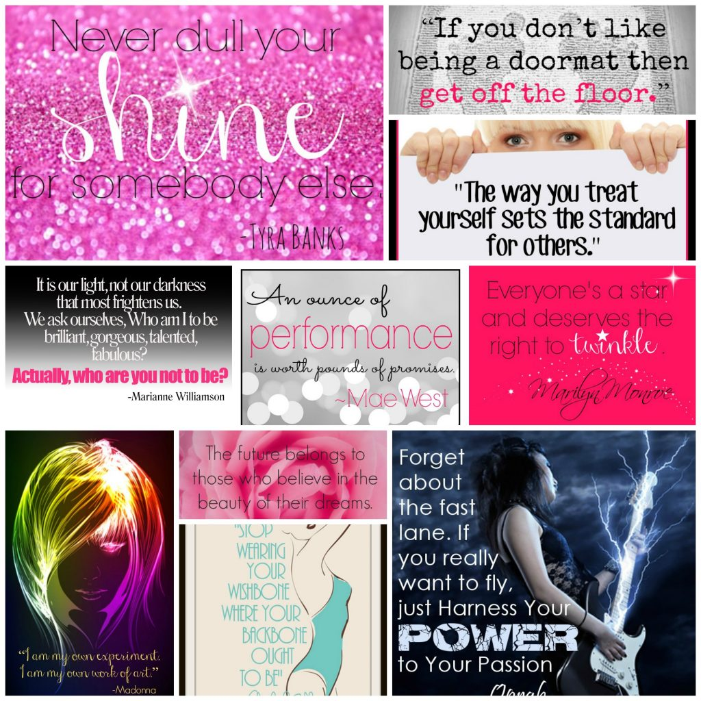 Sassy Women Quotes - Collage
