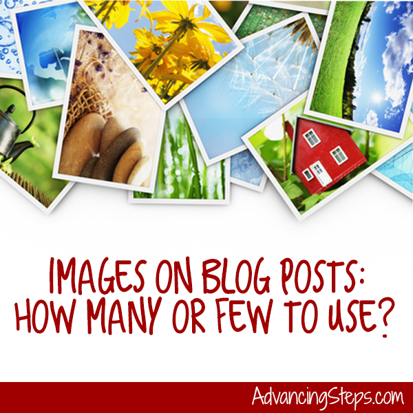 Images on Blogs: How Many or How Few?