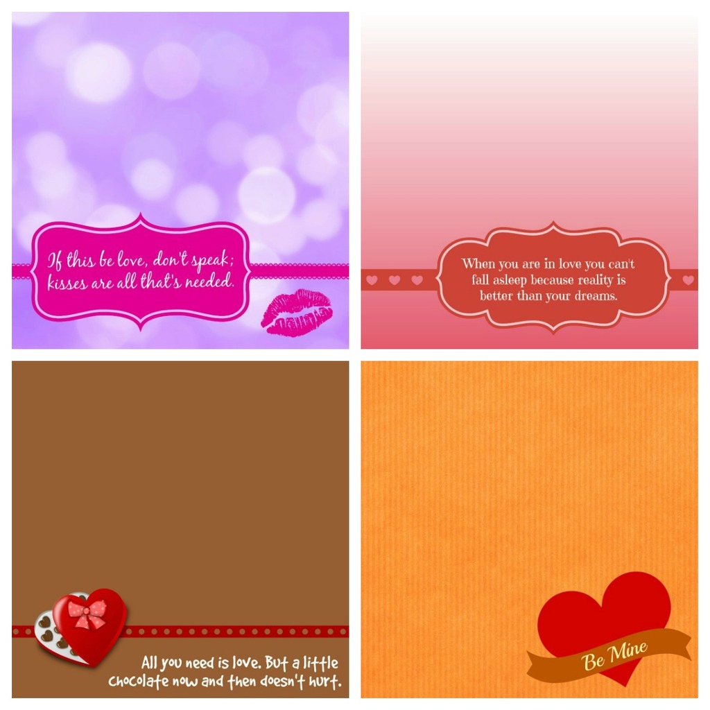 Valentine Note Card - preview